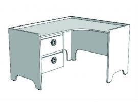 Стол письменный угловой MST214Q Клюква Мини изображение 3