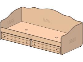 Кровать Соня 69K002 изображение 1