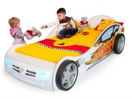 Кровать машина Champion (белая) изображение 2