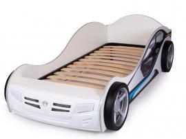 Кровать машина Formula (белая) изображение 3