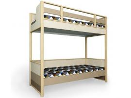 Кровать 2-х ярусная без ящика Робин Wood