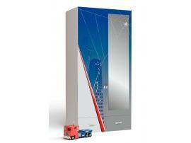 Шкаф 2-х дверный с зеркалом Человек-Паук изображение 1