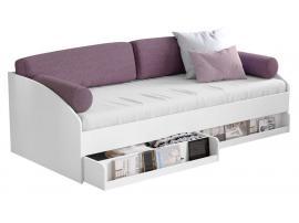 Подушки для кровати-дивана (3463) розовые изображение 2
