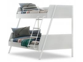 Двухъярусная кровать большая White (1408) изображение 1