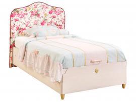 Кровать с подъемным механизмом, с обивкой изголовья Flora 100x200 (1706) изображение 1
