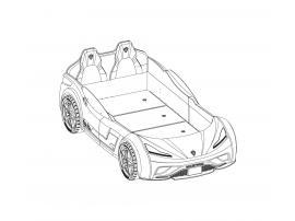 Кровать-машина Champion Racer GTS 100х190 (1352) изображение 8