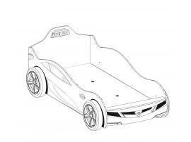 Кровать-машина Champion Racer Coupe 90х195 (1304) изображение 2