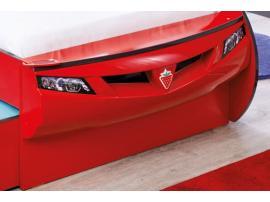 Кровать-машина c выдвижной кроватью Champion Racer Coupe 90х190/90х180 (1306) изображение 4