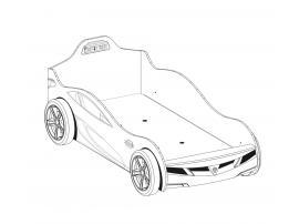 Кровать-машина Champion Racer Coupe 90х190 (1308) изображение 3