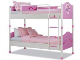 Кровать 2-х ярусная Princess 90х200 (1401) изображение 1
