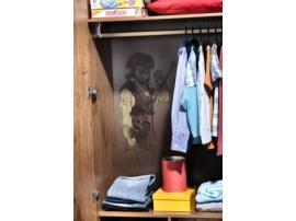 3-х дверный шкаф Pirate (1002) изображение 7