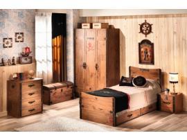 3-х дверный шкаф Pirate (1002) изображение 9