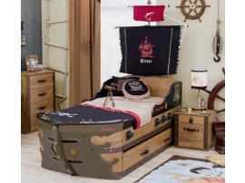 Кровать-корабль Pirate (1310) изображение 3