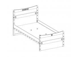 Кровать Pirate XL (1315) изображение 3