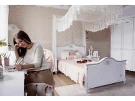 Кровать Romantic XXL 12\40*200 (1307) изображение 4