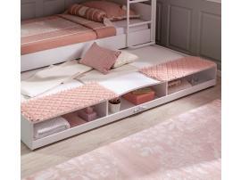 Выдвижное спальное место полками Romantica (1314) изображение 2