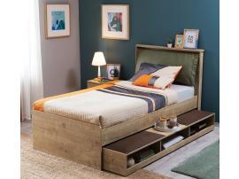Выдвижная кровать с полками Natura (1308) изображение 2