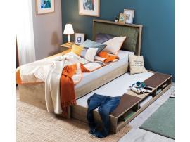 Выдвижная кровать с полками Natura (1308) изображение 3