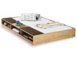 Выдвижная кровать с полками Natura (1308) изображение 1