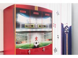 Шкаф 3-х дверный Football (1002) изображение 4