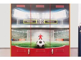 Шкаф 3-х дверный Football (1002) изображение 5