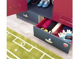 Шкаф 3-х дверный Football (1002) изображение 8