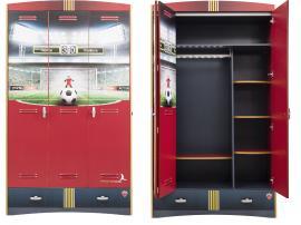 Шкаф 3-х дверный Football (1002) изображение 1