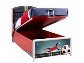 Кровать с подъемным механизмом Football 90х190 (1705) изображение 2