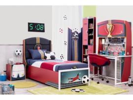 Кровать с подъемным механизмом Football 90х190 (1705) изображение 3