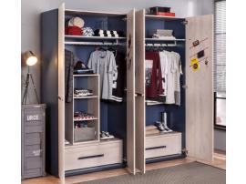 Шкаф 2-х дверный Trio (1001) изображение 2