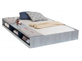 Кровать выдвижная с полочками Trio 90х190 (1305) изображение 1