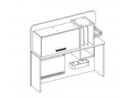 Надстройка к письменному столу Dynamic (1102) изображение 3
