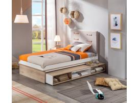 Кровать выдвижная с полочками Dynamic 90х190 (1305) изображение 2