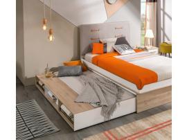 Кровать выдвижная с полочками Dynamic 90х190 (1305) изображение 3