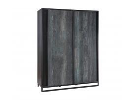 Шкаф купе Dark Metal Line (1003) изображение 1