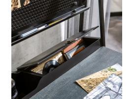 Надстройка к письменному столу Dark Metal (1102) изображение 3