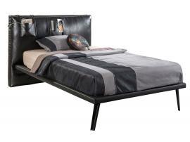 Кровать Dark Metal XL 120х200 (1302) изображение 1