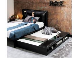 Кровать выдвижная с полками Dark Metal (1310) изображение 3