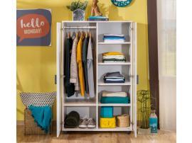 Шкаф 2-х дверный White Compact (1004) изображение 4
