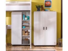 Шкаф 2-х дверный White Compact (1004) изображение 2
