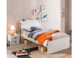 Кровать White 100х200 (1301) изображение 2