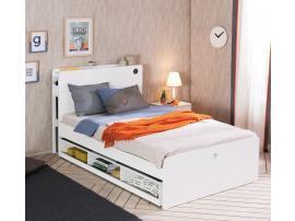 Выдвижная кровать c полками White (1304) изображение 2