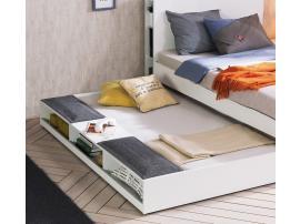 Выдвижная кровать c полками White (1304) изображение 3