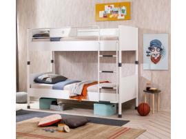 Кровать двухъярусная White 90х200 (1401) изображение 3