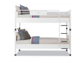 Кровать двухъярусная White 90х200 (1401) изображение 2