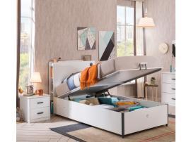 Кровать с подъемным механизмом White 100х200 (1705) изображение 3