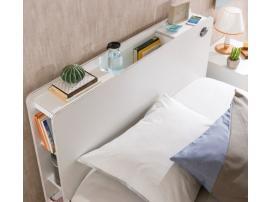 Кровать с подъемным механизмом White 100х200 (1705) изображение 2