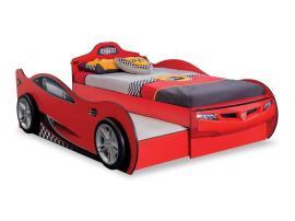 Кровать-машина c выдвижной кроватью Race Cup 90х190/90х180 (1305) изображение 1