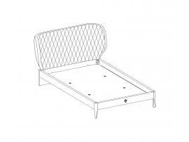 Кровать Lofter XL 120х200 (1302) изображение 2
