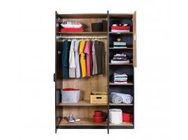 Шкаф 3-дверный Black (1002) изображение 3